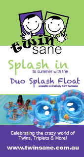 The new Duo Splash Float at Twinsane